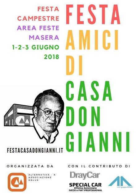 festa Casa don Gianni 2018